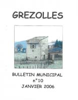 Grézolles_Bulletin municipal n° 10_2006