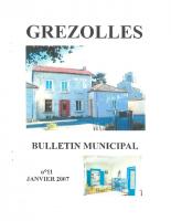 Grézolles_Bulletin municipal n° 11_2007