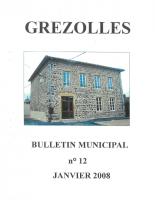 Grézolles_Bulletin municipal n° 12_2008