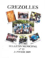 Grézolles_Bulletin municipal n° 13_2009