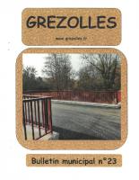 Grézolles_Bulletin municipal n° 23_2019