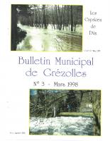 Grézolles_Bulletin municipal n° 3_1998