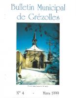 Grézolles_Bulletin municipal n° 4_1999