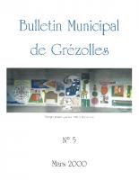 Grézolles_Bulletin municipal n° 5_2000