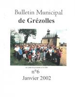 Grézolles_Bulletin municipal n° 6_2002