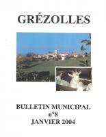 Grézolles_Bulletin municipal n° 8_2004
