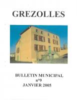 Grézolles_Bulletin municipal n° 9_2005